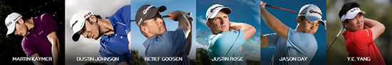 Featured TaylorMade Players
